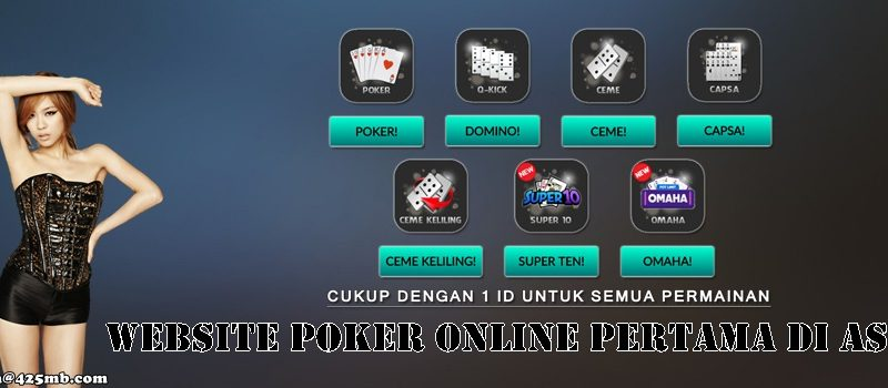 Website Poker Online Pertama Di Asia